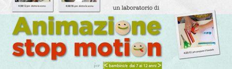 Da sabato 19 novembre: laboratorio di animazione Stop Motion in quattro incontri (7-12 anni).