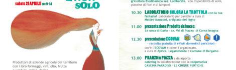 sabato 21 aprile - Ecovan & pranzo in piazza al Mercato Agricolo e Non Solo di Monterosso