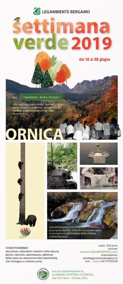 Settimana verde 2019 @ Ornica