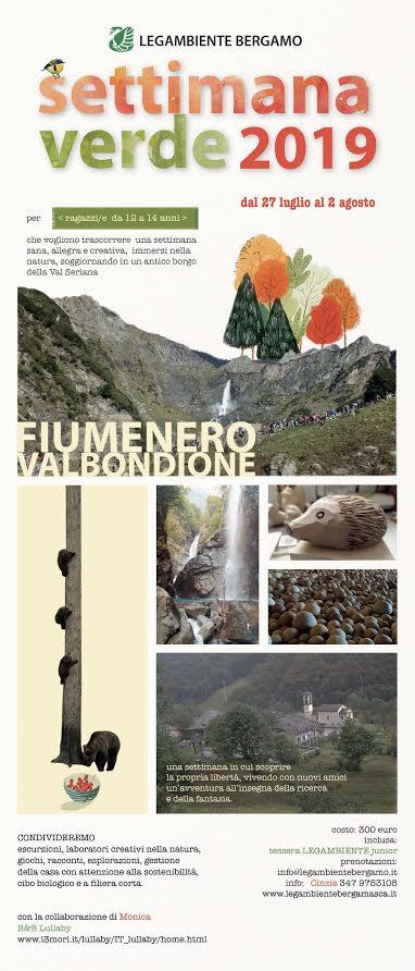 Vacanze Natura 2019: Ornica e Fiumenero