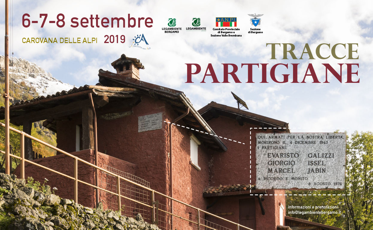 Tracce Partigiane 2019: save the date
