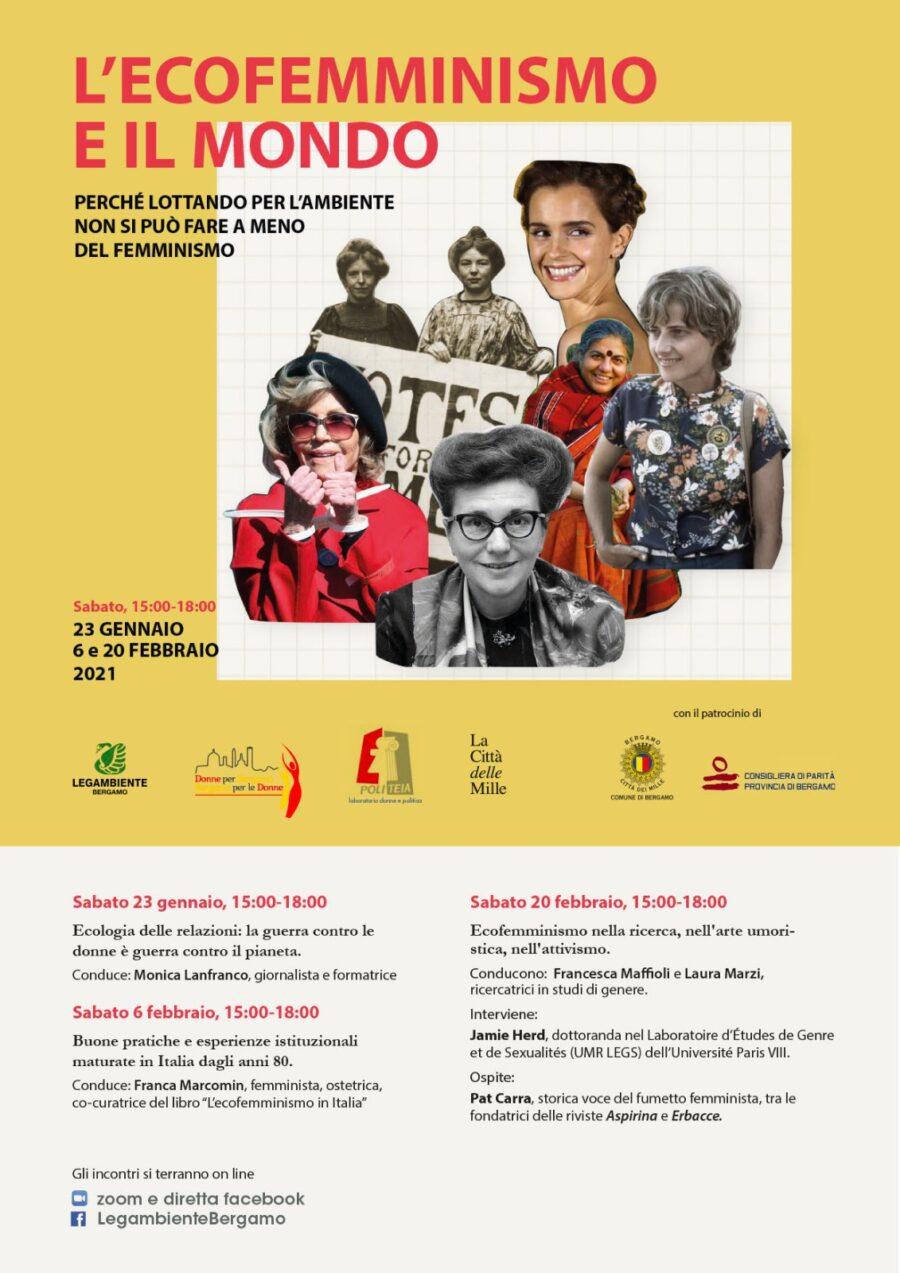 Rassegna Stampa: Ecofemminismo e il mondo su L'Eco di Bergamo