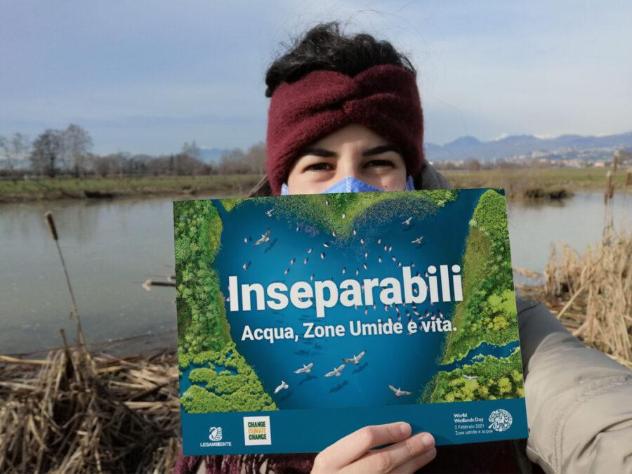 """2 febbraio 2021 GIORNATA MONDIALE DELLE ZONE UMIDE: """"Acqua, zone umide e vita sono inseparabili"""""""